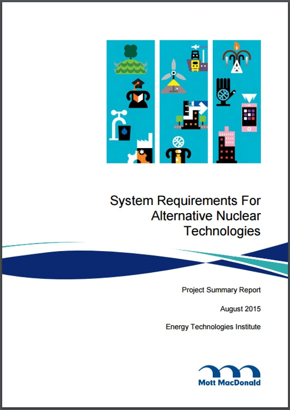 Alternative Nuclear Technologies Summary Report