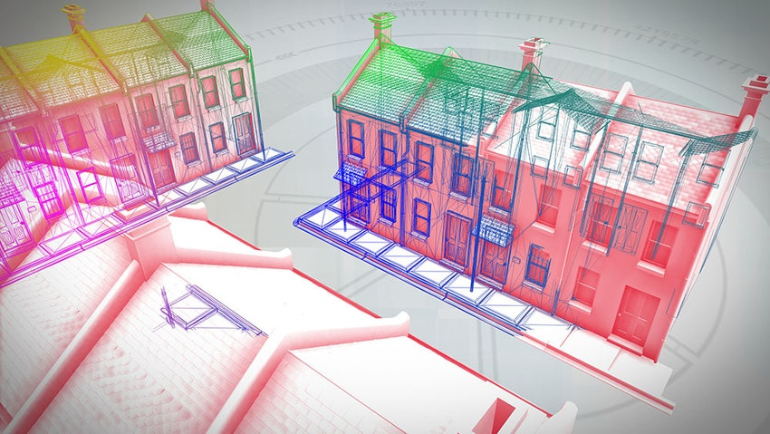 Animated Cut Through Of A House Smaller For Web