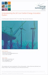 Understanding the UK Low Carbon Energy Innovation System - Full Report