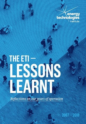 Lessons Learnt Reflections Brochure Cover