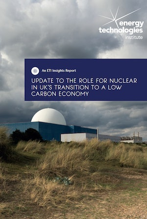 Update To The Role For Nuclear In Uks Transition To A Low Carbon Economy Front Cover