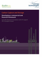 CCS - Developing a commercial and financial framework