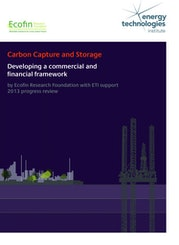 Carbon Capture and Storage: Developing a Commercial and Financial Framework
