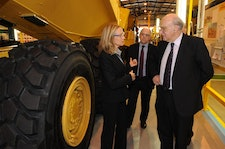 Business Secretary Vince Cable launches ETI's £40m Heavy Duty Vehicle Efficiency Programme