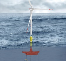Glosten Floating Tension Leg Platform Study for ETI suggests Offshore Wind energy costs of below £85/MWh by 2020s