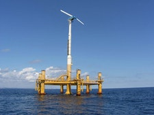 ETI project identifies potential for floating offshore wind turbines in deeper water