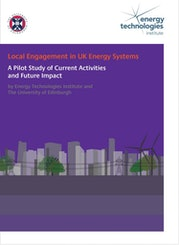Local Engagement in UK Energy Systems - A Pilot Study of Current Activities and Future Impact