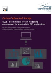 gCCS - a commercial system modelling environment for whole-chain CCS applications