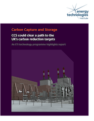 Carbon Capture and Storage could clear a path to the UK's carbon reduction targets - An ETI technology programme highlight report