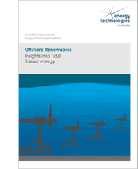 Offshore Renewables insights into Tidal Stream Energy