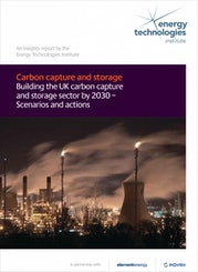 Carbon capture and storage - Building the UK carbon capture and storage sector by 2030