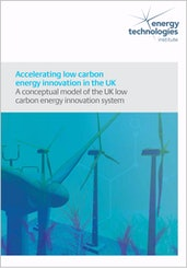Accelerating low carbon energy innovation in the UK