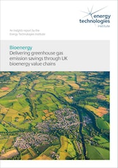 Delivering greenhouse gas emission savings through UK bioenergy value chains