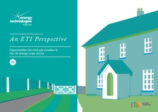An ETI Perspective - Opportunities for rural job creation in the UK energy crops sector