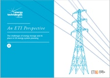 An ETI Perspective - The challenges of energy storage and its place in UK energy system planning