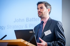 ESC's Head of Technology Strategy and Planning John Batterbee presented 'Setting the UK on track to transform a million homes a year to zero carbon energy from 2025'