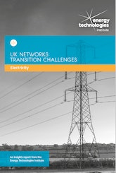 UK Networks Transition Challenges - Electricity