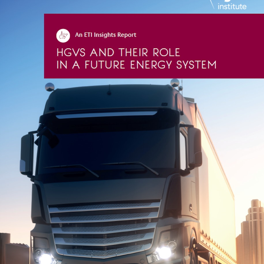 HGVs and their role in a future energy system