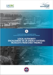 Local Authority Engagement in UK Energy Systems