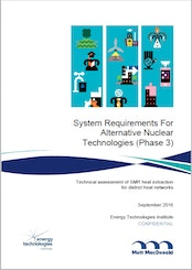 System Requirements for Alternative Nuclear Technologies - Phase 3