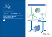 An ETI Perspective - Lessons learnt from UK offshore renewables innovation