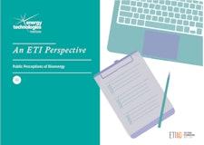 An ETI Perspective - Public Perceptions of Bioenergy