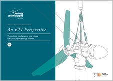 An ETI Perspective - The role of tidal energy in a future UK low carbon energy system