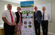 Aldridge MP Wendy Morton visits local energy pioneers set to open the UK's first municipal waste gasification plant